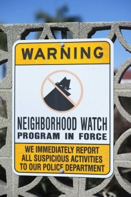 Riverside, California Neighborhood Watch
