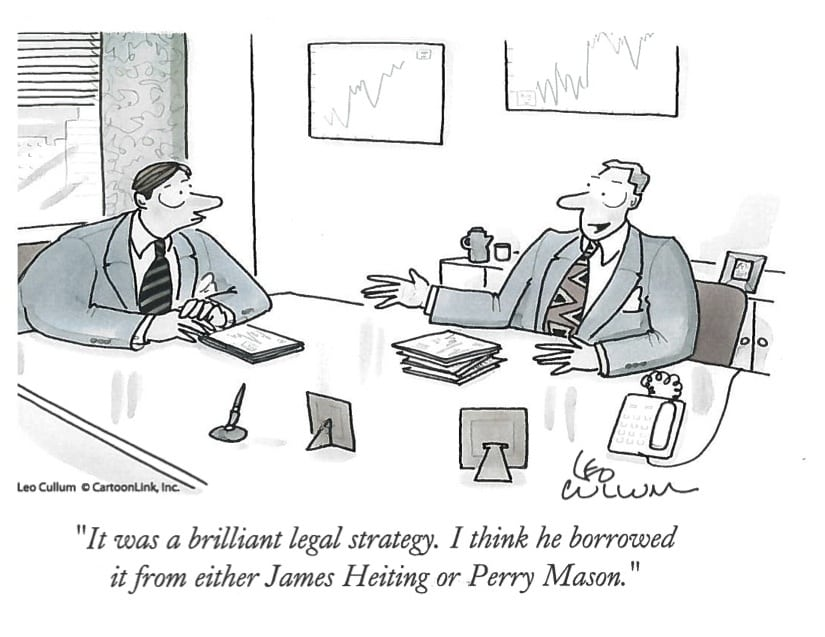 Personal Injury Attorney Cartoon | Riverside, CA | Heiting & Irwin Attorneys At Law